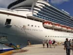 Docked in Cozumel.