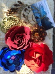 Flowers and Brooches from Avant Trims