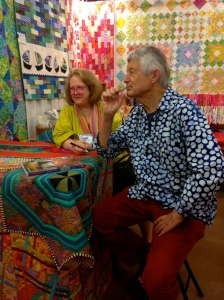 KAFFE FASSETT and LIZA PRIOR LUCY
