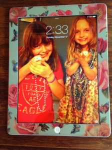Front of my iPad