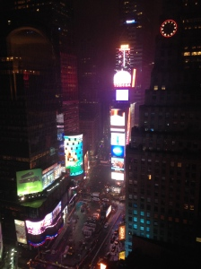 The View from Room 2636 at the Marriott Marquis