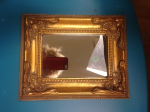 Picture frame Before