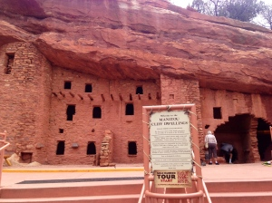 VISITED CLIFF DWELLINGS