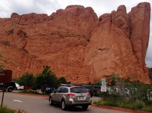 TRAILBLAZING IN GARDEN OF THE GODS