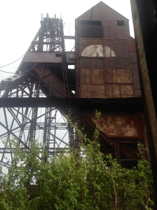 EXPLORED AN ABANDONED GOLD MINE