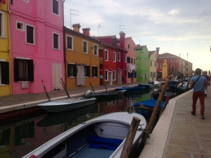 Colorful homes of Burano.