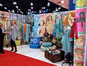Amy Butler's Booth