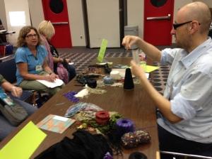 Gilbert Muniz Demo on Making Tasselsl