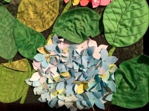 Close up of the tridimensional petals...