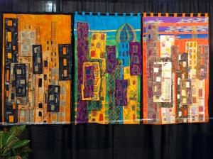 Triptych The City: Past, Present, Utopia?
