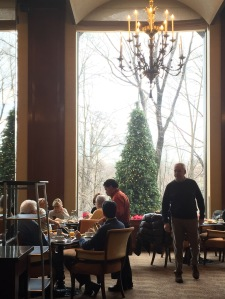 Park Lane Dining Room overlooking Central Park