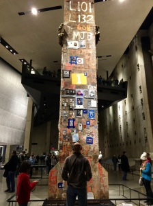 A beam from the World Trade Center.