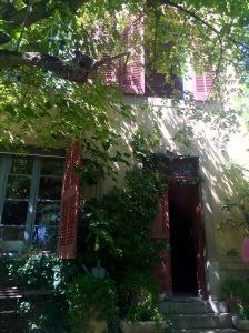 Exterior Cezanne's Studio