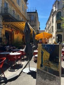 """Van Gogh's """"Cafe la Nuit"""""""