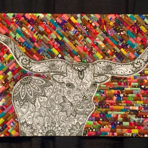 iColor Longhorn close-up