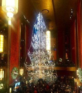 The Stunning Chandelier Christmas Tree
